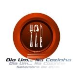 Logotipo Dia Um... Na Cozinha - Setembro 2015